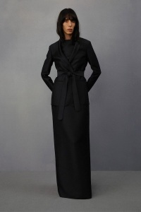Olsens-Anonymous-Blog-The-Row-Resort-2015-Collection-Black-Coat-Maxi-Dress-18