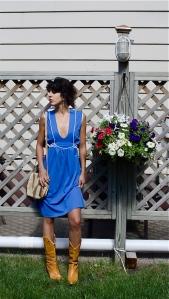 sky blue jersey dress 4