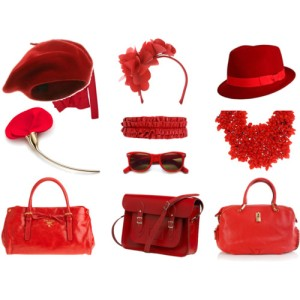 red-accessories