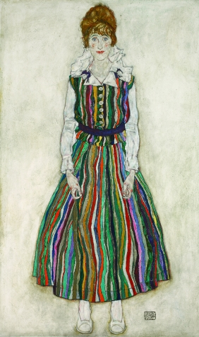 5.-Egon-Schiele-Portrait-of-the-Artists-Wife-1915
